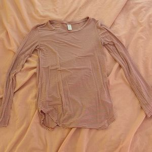 Old Navy long sleeve striped shirt